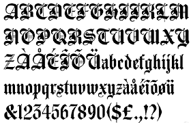 Old English Lettering Tattoos Art Pictures Images Photo Illustrations A10