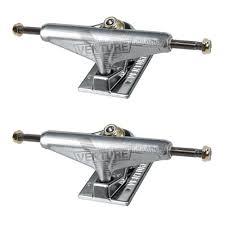 Venture Skateboard Trucks Low V-Hollow Polished 5.25