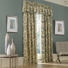Brylane Home Grommet Curtains by Jacobean Floral Curtains Window Treatments Compare Prices At