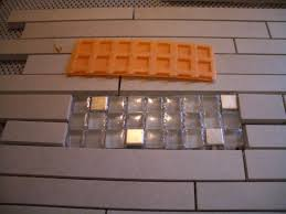 Schluter Ditra Tile Underlayment by Setting Different Thicknesses Of Tile For Inserts