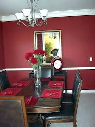 Dining Room Black Red Table Set And Ideas