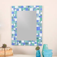 Blue Mosaic Bathroom Mirror by 14 Best Mosaic Mirrors Images On Pinterest Mosaic Mirrors