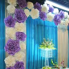 2016 New Popular Artificial Rose Flower Diy Craft Ornament For Wedding Party Backdrop Centerpiece Decoration Supplies 4 Size Car
