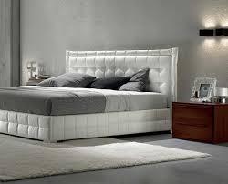White Bedroom Decorating White Platform Bed Frame Natural Brown