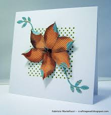 Tropical Flower Greeting Card Made Using Stampin Up Supplies Dot Stamp