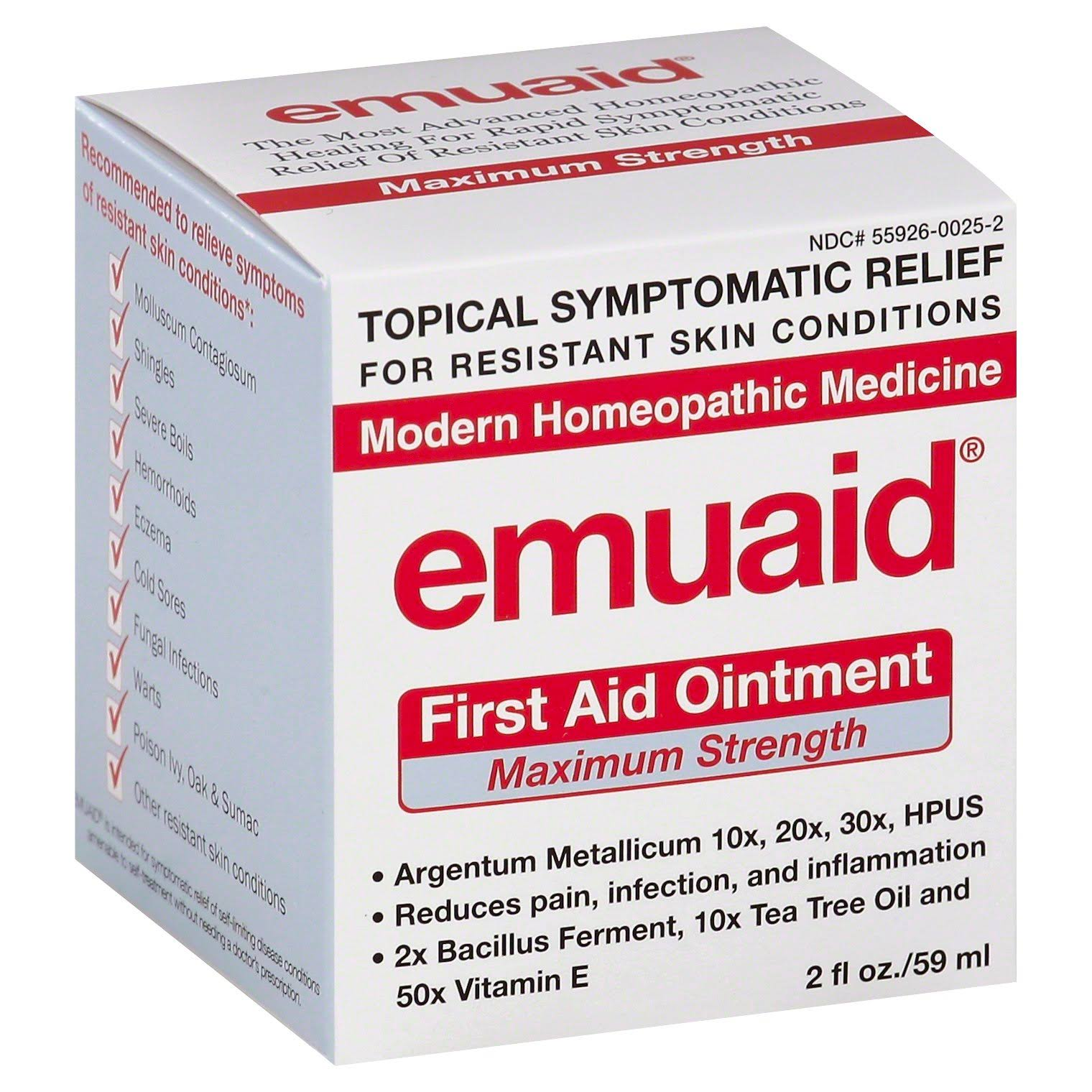 EmuaidMAX First Aid Ointment - 2oz