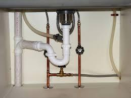 Kitchen Sink Drain Pipe Diagram by Copper Kitchen Sink Drain Basket Also Plumbing Installation 49