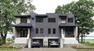 Modern Houseplans Modern Duplex Builder Cutsom Home Design By Drummond House