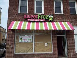 Custom Stripes For Sweet Frog Awning - Hendersonville, NC ... All About Awning Restaurant Awnings Mark For Camper Manufacturer Hoover Architectural Products Retractables Pinterest Custom Design Window Phoenix Tent And Village Wens Cporation Commercial Las Vegas Patio Covers Chrissmith Beagle One Custom And Standard Signs More Index Shading Systems Everything Else Diy Kitchen Cauroracom Just Windows Doors Front Door I32 Coolest Home Decoration U Styles Casement Types Of