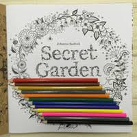 Boys 2 4 Years Multicolor NEW 2017 Secret Garden Coloring Book 12 The Root