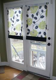 Patio Door Curtains And Blinds Ideas by Diy Door Curtains To Creative Thriftiness Diy Roll Up