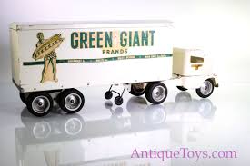 Tonka Green Giant 1953 Steel Truck Toy Refer Semi - Antique Toys For ...