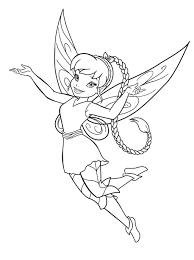 Free Printable Fairy Coloring Pages For Kids Throughout Page