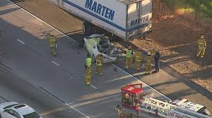 Man Killed After Colliding Into Semi-truck On NB 405 Fwy In Sherman ... Los Angeles Truck Accident Attorney Angeles And Delivery Van Lawyer David Azi Call Or Dump Free Case Review 247 Driver In Serious Cdition After Truck Flies Off 110 Freeway When To Hire A Motorcycle Mova Law Group Injury How Motorcyclists Can Avoid Accidents Source Ucktrailer Accident Immigration Need A Auto Tractor Trailer
