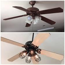 Smc Ceiling Fan Manual by Ceiling Fan Painted White Made A Added Crystals Funny Funky Home