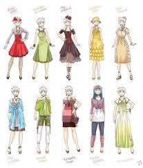 Drawn Costume Anime 6