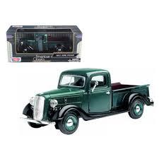 100 Toy Ford Trucks New 1937 Pickup Truck Green 124 Diecast Car Model By Motormax