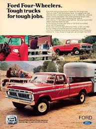 100 Tough Trucks FORD FourWheelers For Jobs Print Ads HobbyDB