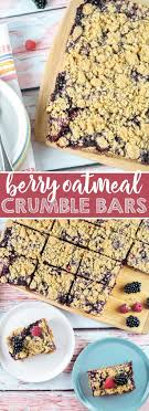 Best 25+ Blueberry Oatmeal Crisp Ideas On Pinterest | Healthy ... Personal Sized Baked Oatmeal With Individual Toppings Gluten Free Best 25 Bars Ideas On Pinterest Chocolate Oat Cookies Blackberry Crumble Bars Broma Bakery The Love Bar Modern Honey Include Dried Apples Blueberries Banas Strawberry Recipe Taste Of Home Ultimate Healthy Breakfast Strong Like My Coffee With Caramel Ice Cream Topping All