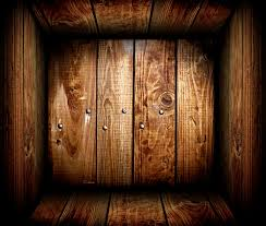 Download Inside An Empty Wooden Crate Wood Box Stock Photo
