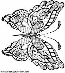 85 Best Butterfly Coloring Pages Images On Pinterest