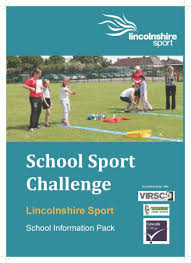 School Sport Challenge Information Pack Page 1