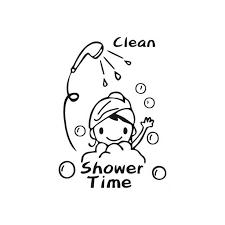 wand aufkleber bad nette lustige dusche aufkleber badezimmer dekoration lot