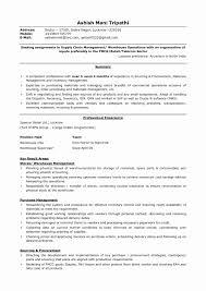 Operations Manager Resume Sample Luxury Warehouse Management Resume