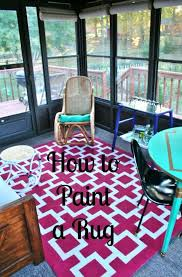 Painting Carpets by The 25 Best Paint A Rug Ideas On Pinterest Paint Rug Painting