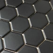 ceramic large hexagon mosaic floor bathroom kitchen wall tile