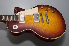 SOLD LES PAUL HISTORIC 59 REISSUE HEAVY AGED 2014 104 9300