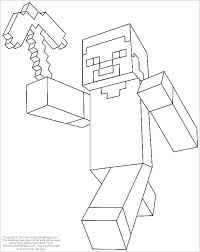 Full Image For Coloring Pages Of Minecraft Animals Printable Page Kids Project