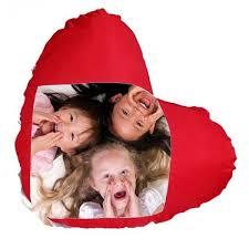 coussin avec photo personnalise votre coussin coeur personnalisé avec photo pour deco