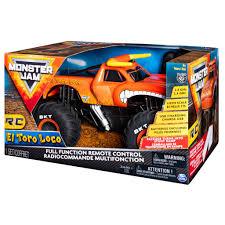 100 Rc Monster Truck Videos Spin Master Jam Jam Official El Toro Loco Remote