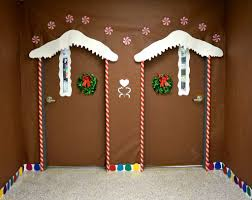 Christmas Office Door Decorating Ideas Contest by Christmas Christmas Door Decoratingdeas Twin Ginger Bread House