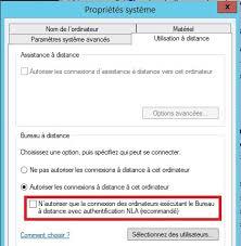 autoriser bureau a distance problème remote desktop windows 10 it connect