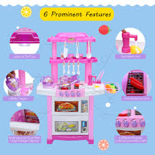 Kitchen Cooking Childrens Play Set Toy Girls Boys Role Play Xmas