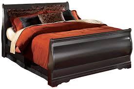 Big Lots Sleigh Bed by Huey Vineyard Queen Sleigh Bed Ashley Furniture Homestore