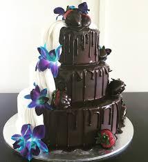 Half White Chocolate Cake