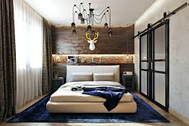 Industrial Bedroom Decor This Meets Rustic Is A Very Stylish And Bold Space