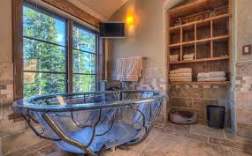 Tenderness And Rude In Rustic Style 50 Amazing Ideas For Bathroom Design More Information