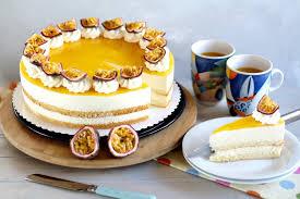 fruchtige maracuja käse sahnetorte solero torte cremiger tortentraum rezept sugarprincess