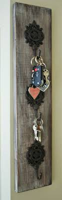 Key, Jewelry, Purse, Coats, Towel Hook Organizer - Hand Made ... Reclaimed Wood Boards Amish Tobacco Lath Rustic Barn Board Primitive Santa Believe Painted Country 25 Unique Wood Crafts Ideas On Pinterest Signs 402 Best Unique Framing Ideas Images Picture Frame Image Result For How To Style The Deer Head Wall Decoration Canada Flag Custom Wood Sign Collection Farmhouse Board Decor Barn And Rseshoe Table Horse Shoe