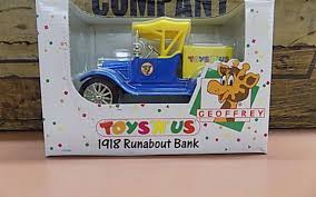 100 Toys R Us Trucks 1918 Unabout Truck Bank Geoffrey 125 Scale Die Cast