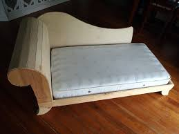 Solsta Sofa Bed Cover Diy by Toddler Fainting Couch Tufting Upholstery Reality Daydream Room