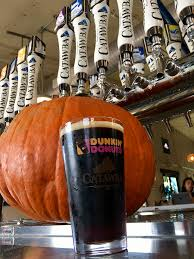 Dunkin Pumpkin Spice Donut by 6 Catawba Beers To Drink This Fall Ranging From An Award Winning