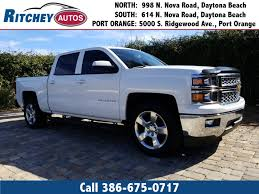 100 Used Trucks Melbourne Fl 2014 Chevrolet Silverado 1500 LT In Daytona Beach FL Ritchey
