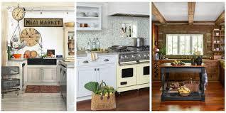 18 Farmhouse Style Kitchens Rustic Decor Ideas For