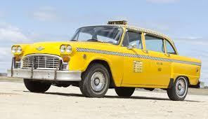 Checker Marathon Yellow Cab Classic Cars Pinterest