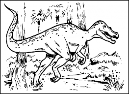 Download Coloring Pages Dinosaur Color Free Printable For Kids Online